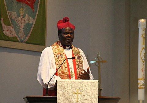 Rev. Livingstone Mpalanyi Nkoyoyo, Sixth Archibishop of the Province of the Church of Uganda
