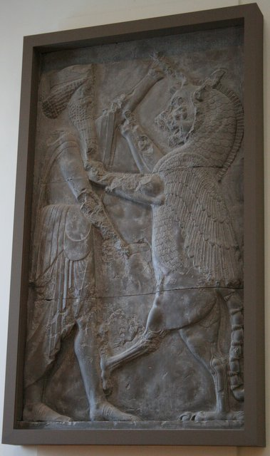 Ancient Imagination: Hero versus griffin in Persepolis