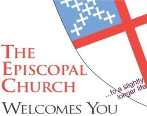 """The Episcopal Church Welcomes You"" ...to a slightly longer life."