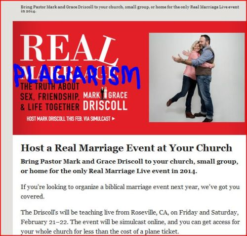 """Real Marriage"" or ""Real Plagiarism""?"