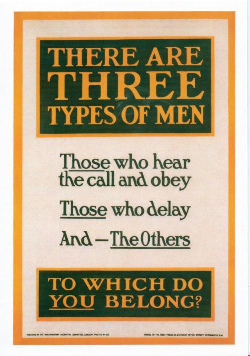 There Are Three Types of Men  1915