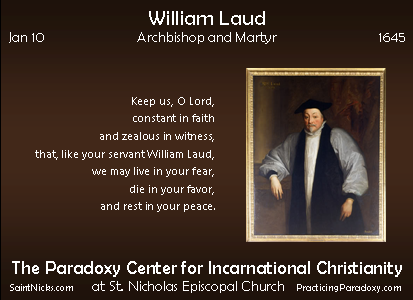 Jan 10 - William Laud